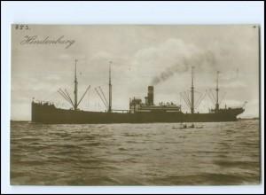 XX13139/ Dampfer Handelsschiff Hindenburg Foto AK ca.1925