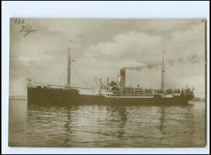 XX13134/ Dampfer Vigo Foto AK ca.1925