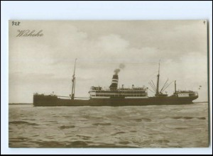 XX13135/ Dampfer Wahehe Foto AK ca.1925