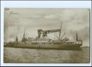 XX13137/ Dampfer Handelsschiff Njassa Foto AK ca.1925
