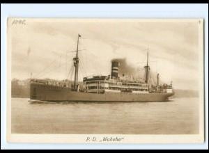 XX13147/ Dampfer Wahehe AK ca.1925