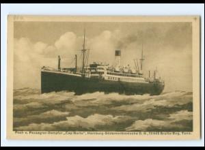 XX13145/ Dampfer Cap Norte Hamburg-Süd AK ca.1920
