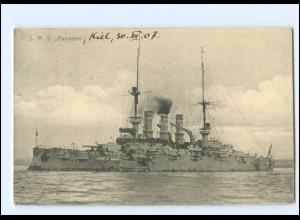 XX13403/ S.M.S Hannover Kriegsschiff Marine AK 1907