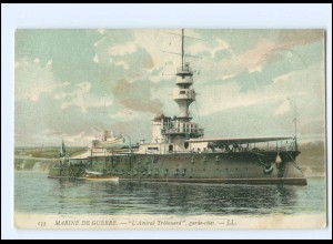 XX13234/ Marine de Guerre L Amiral Trehouard Kriegsschiff Frankreich AK 1907