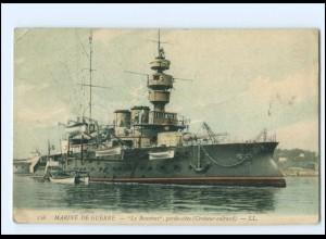 """XX13698/ Marine de Guerre """"Le Bouvines"""" AK 1907 Frankreich"""