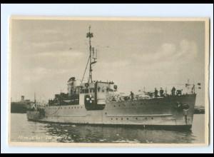 XX13377/ Mines Kibet Lindormen Marine Kriegsschiff Dänemark AK 1940