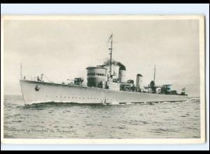 XX13381/ Jagare typ Ehrensköld Marine Kriegsschiff Schweden AK ca.1935