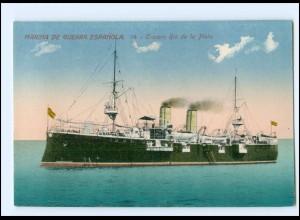 XX13175/ Marina de Guerra Espanola Crucero Rio de la Plata Kriegsschiff AK