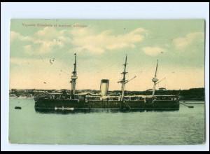 XX13178/ Vaporul Elisabeta al marinei militare Rumänien Kriegsschiff AK 1916