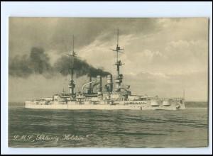 XX13391/ S.M.S. Schleswig Holstein Marine Kriegsschiff AK ca.1912