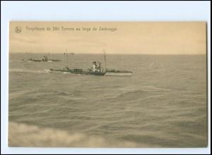 XX13182/ Torpilleurs Ligue Maritime Belge Marine Belgien AK