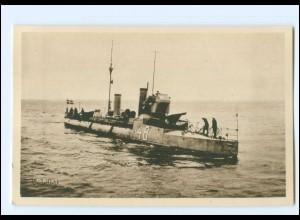 XX13376/ Vedettbat 48 Marine Kriegsschiff Schweden AK ca.1930