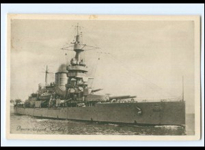 XX13369/ Pansarskeppet Gustav V Marine Kriegsschiff Schweden AK ca.1930