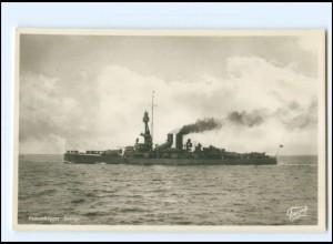 XX13379/ Pansarskeppet Sverige Marine Kriegsschiff Schweden Foto AK ca.1935