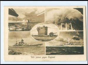 XX14693/ Kriegsschiffe U-Boot Marine ca.1940 Foto AK