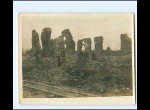 XX13267/ Zarren b. Kortemark Flandern Belgien 1. Weltkrieg Foto ca.1915