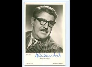 XX13436/ Willy Milowitsch Original Autogramm Ufa Foto AK ca.1960
