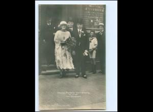 XX13457/ Schauspielerin Henny Porten Vermählung 1921 Foto AK