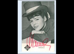 XX13439/ Manuela Original Autogramm Telefunken-Karte