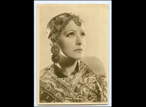 XX13470/ Greta Garbo schöne Ross Foto AK ca.1935 Format 10 x 15 cm