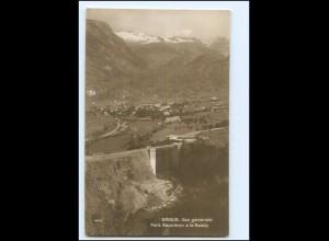 Y18851/ Brigue Brig Pont Napelon Foto AK ca.1925 Wallis