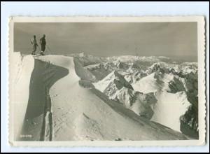 Y18858/ Marmolada Ombretta Südtirol Italien Dolomiten AK 1952 Bergsteiger