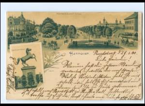 Y18865/ Hannover Litho AK 1900