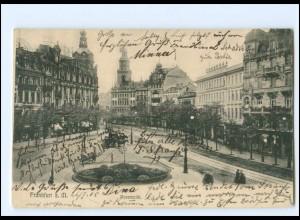 Y18867/ Frankfurt M. Rossmarkt Ak 1905