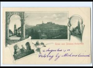 V1684-6903/ Gruß vom Dilsberg bei Neckargemünd AK ca.1900