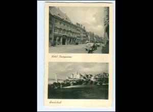 Y18876/ Landshut Hotel Kronprinz AK ca.1940