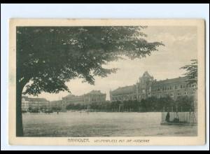Y18877/ Hannover Welfenplatz mit Inf.-Kaserne AK 1918