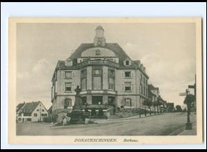 Y18879/ Donaueschingen Rathaus AK ca.1910
