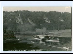 Y18881/ Karlshafen Weserdampfer Fuerst Bismarck Foto AK ca.1930
