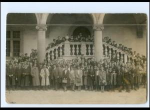 Y18971/ Gruppenfoto Krakau 1935/36 Foto AK