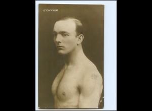 Y18995/ O`Connor junger Mann Ringer Sportler Foto AK ca.1290