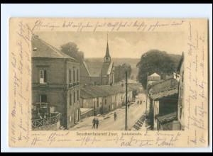 Y19522/ Inor bei Stenay Seuchenlazarett , Schloßstraße AK WK1 1915 Frankreich