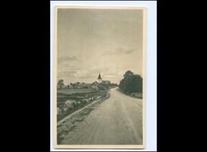 Y19519/ Peude Kirche Estland AK ca.1920