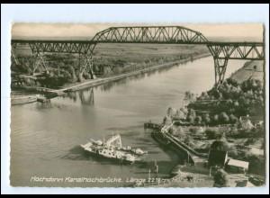 Y18914/ Hochdonn Kanalhochbrücke Fähre AK 1963