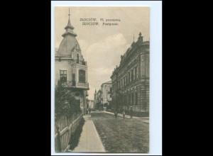Y19515/ Zloczow Solotschiw Ukraine Postgasse AK 1917