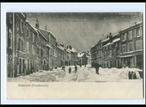Y18926/ Blamont im Winter Frankreich AK 1915