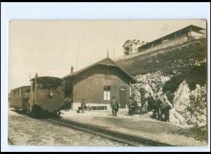 XX13485/ Bahnhof Schafberg Oberösterreich Foto AK 1909