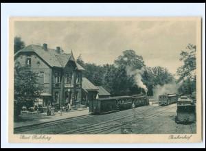 XX13490/ Bad Rehburg Bahnhof Eisenbahn AK ca.1928