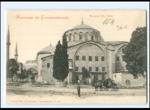 XX13506/ Constantinople Mosquee Ste. Irene Türkei AK 1902
