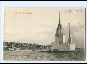 XX13507/ Constantinople Le Tour de Leandre Türkei AK 1902