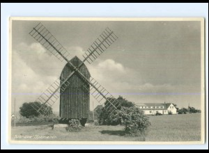 XX13714/ Svaneke Stubmöllen Windmühle Dänemark AK ca.1955