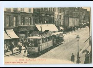 XX13519/ Nancy Rue Saint-Jean Tram Straßenbahn AK ca.1910
