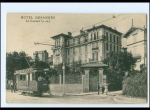 XX13575/ Le Cannet (A.-M.) Hotel Desanges Tramway Straßenbahn AK Frankreich 1910