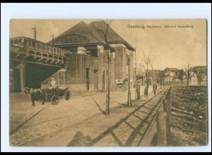 XX13525/ Hamburg Hochbahn Bahnhof Mundsburg AK xa.1912