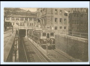 XX13526/ Hamburg Hochbahn an der Börse AK ca.1910