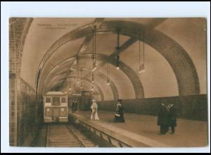 XX13531/ Hamburg Hauptbahnhof Untergrundbahn AK ca.1912